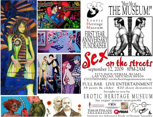 Erotic Heritage Museum's One Year Anniversery